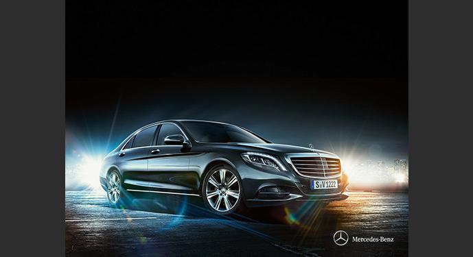 Mercedes Clase S. Alquiler de coches con conductor, Coexpress