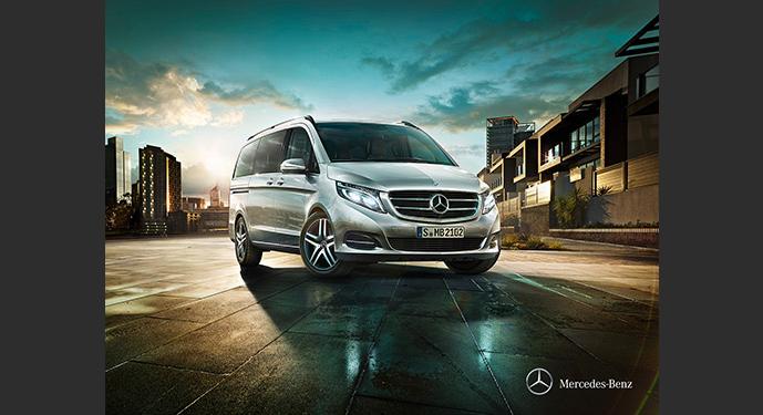 Mercedes Viano, alquiler de coches con conductor Coexpress